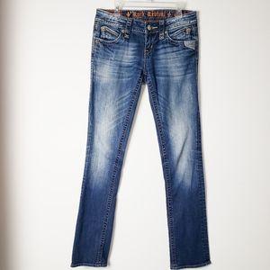 Rock Revival Elma Straight Jean's Size 26